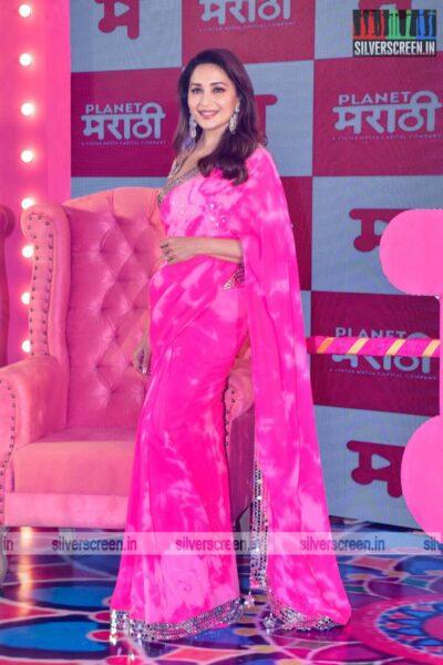 Maduri Dixit At 'Planet Marathi' OTT Launch