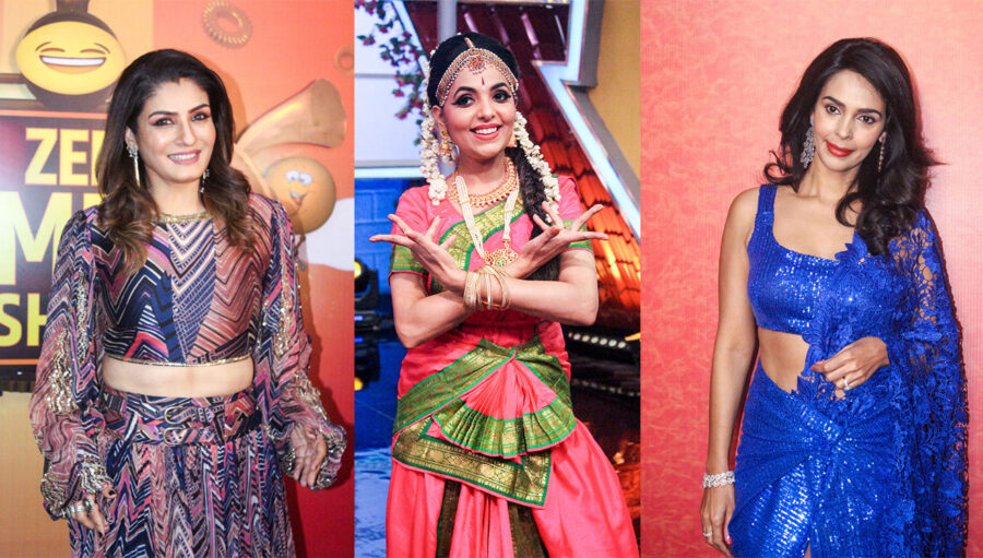 Celebrities On The Sets Of Zee Comedy Show