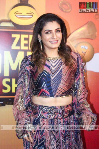 Raveena Tandon On The Sets Of Zee Comedy Show