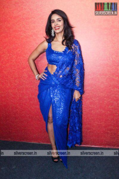 Mallika Sherawat On The Sets Of Zee Comedy Show