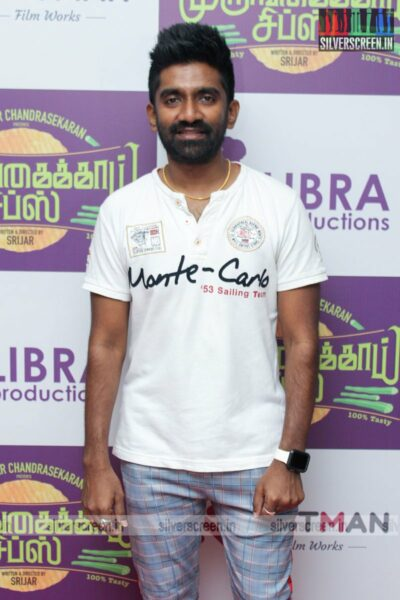 Dharan Kumar At  The Murungakkai Chips Audio Launch
