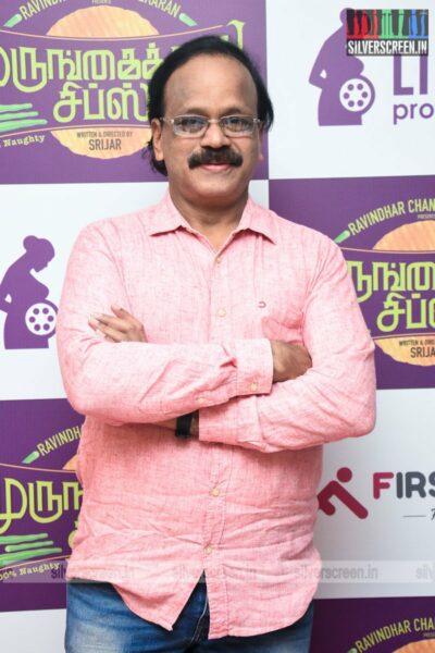 G Dhananjayan At The Murungakkai Chips Audio Launch