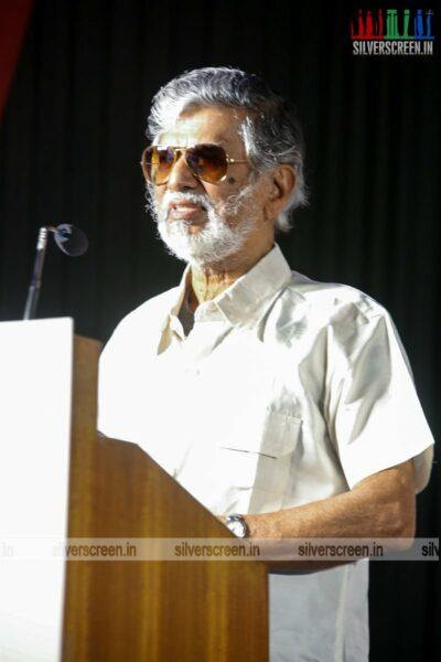 SA Chandrasekhar At The 'Naan Kadavul Illai' Press Meet