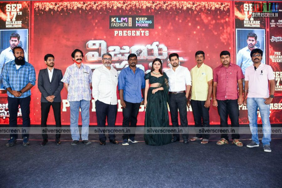 Aathmika, Vijay Antony At The Vijaya Raghavan Press Meet