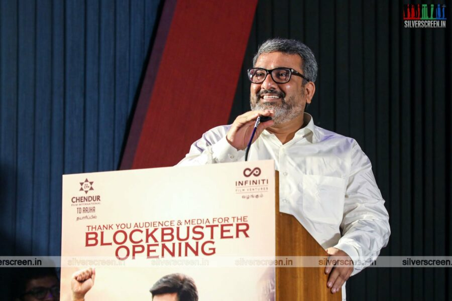 Celebrities At The Kodiyil Oruvan Success Meet