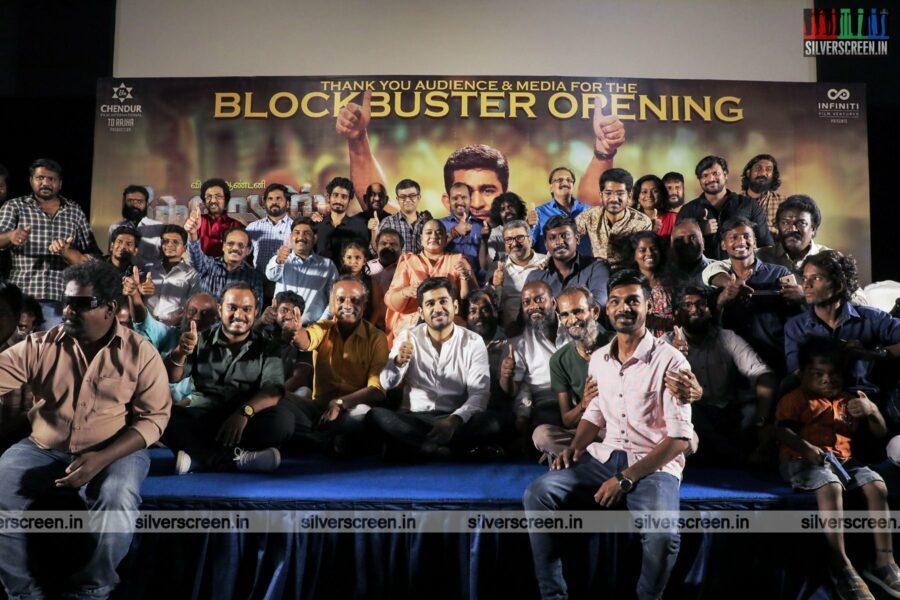 Vijay Antony At The Kodiyil Oruvan Success Meet