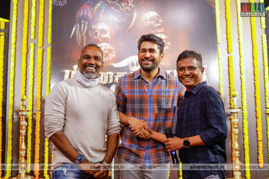 Vijay Antony At The 'Pichaikkaran 2' Movie Launch