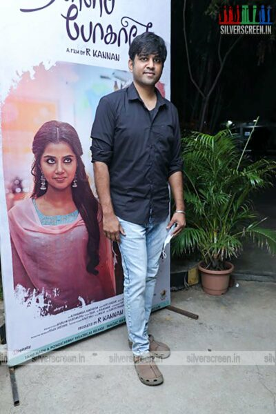 Celebrities At The Thalli Pogathey Press Meet