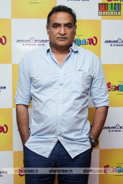 Aadukalam Naren At The Golamaal Movie Launch