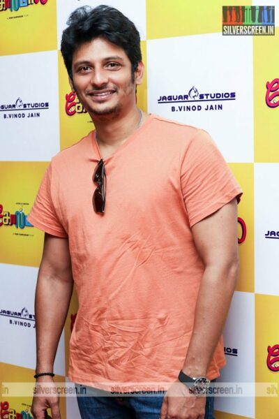 Jiiva At The Golamaal Movie Launch