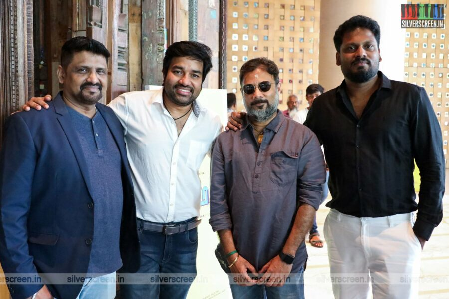Mirchi Shiva At The Golamaal Movie Launch