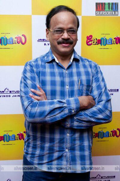 G Dhananjayan At The Golamaal Movie Launch