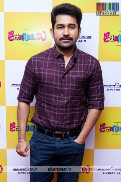Vijay Antony At The Golamaal Movie Launch