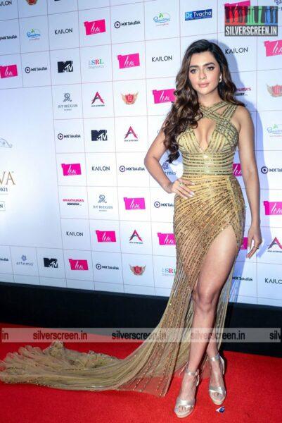 Ruhi Singh At The Liva Miss Diva Red Carpet Event