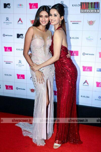 Celebrities At The Liva Miss Diva Red Carpet Event