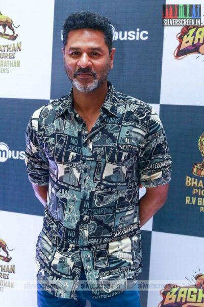 Prabhu Deva At The Bagheera Press Meet