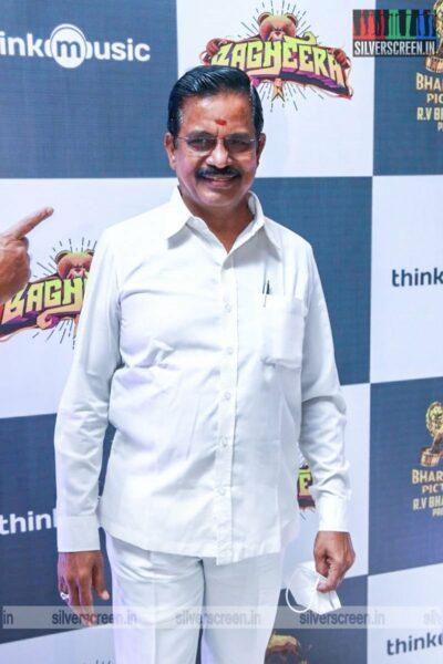 Kalaipuli S Thanu At The Bagheera Press Meet