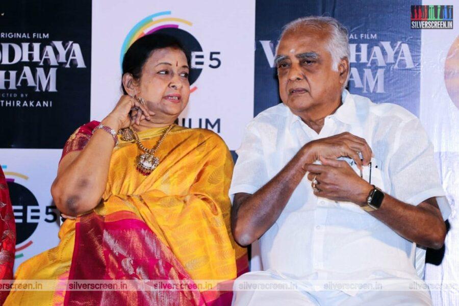 Celebrities At The Vinodhaya Sitham Press Meet