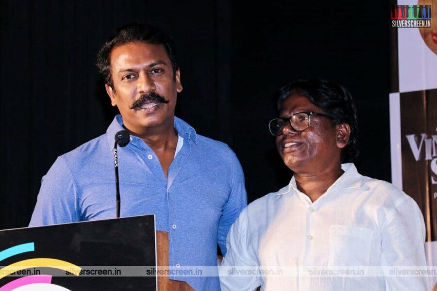 Samuthirakani At The Vinodhaya Sitham Press Meet