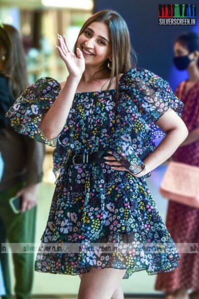 Dhvani Bhanushali at the Lakme Fashion Week 2021