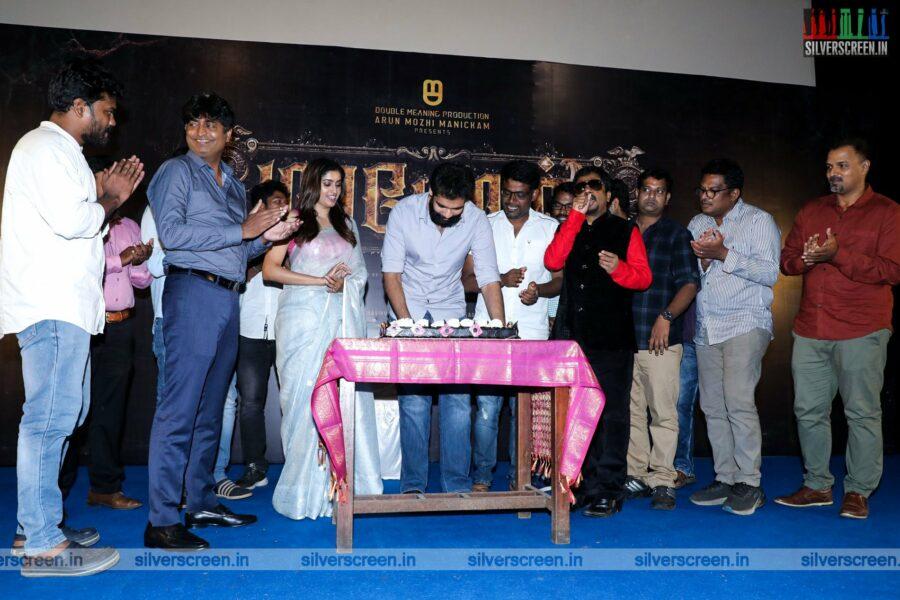 Sibiraj, Tanya Ravichandran At The Maayon Press Meet