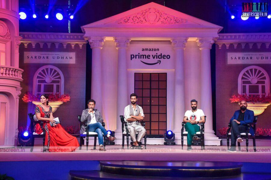 Vicky Kaushal, Shoojit Sircar At The Sardar Udham Press Meet