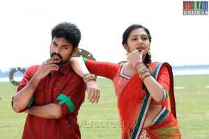 Actress-Lakshmi-Menon-and-Actor-Vimal-in-Manjapai-Movie-Stills