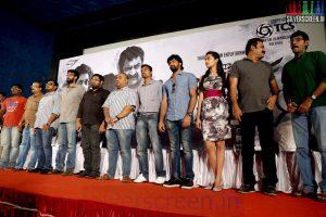 Actor-Naveen-Chandra-and-Salony-Luthra-at-the-Sarabham-Press-Meet